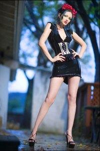 Scar Modeling Fierce Couture