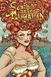 Scarlett Takes Manhattan Art